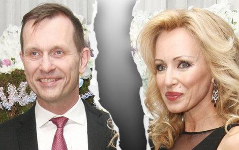 Kateřina Brožová a Jaromír Soukup se rozešli