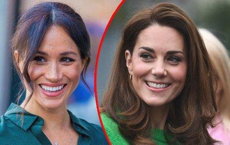 Meghan a Kate patří mezi modní ikony.