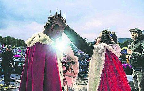 Novými panovníky se stali Jan Jílek a Kristína Šintajová.