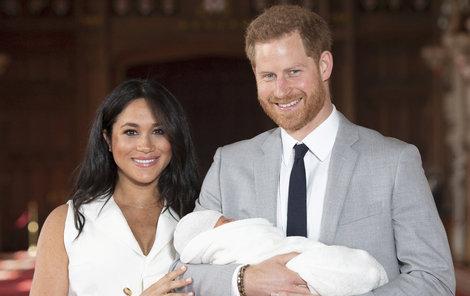 Harry a Meghan se synem