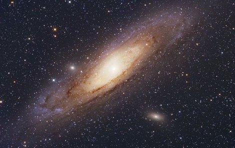 Díky snímku galaxie M31 vyhrál Cenu pro nejlepšího českého astrofografa roku.