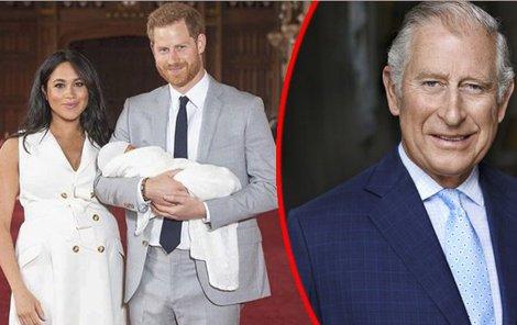Meghan a Harry se svým synem Archiem.