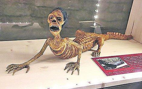 V Saudské Arábii byl údajně několikrát spatřen tvor, který vypadal jako kříženec člověka a krokodýla.