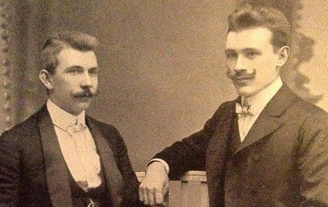 Zakladatelé legendární firmy Jaroslav Brouk a Josef Babka.