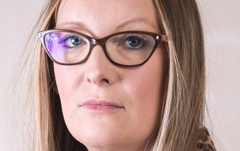 Okradená Samantha Robsonová (39).