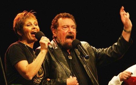 Olga a Waldemar na koncertě 2004