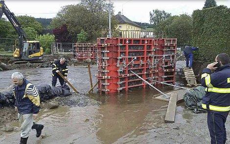 Voda v Olomouci zatopila několik domů