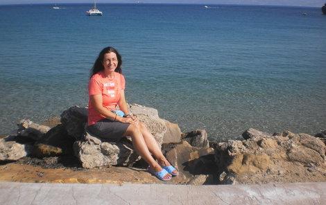 Dálková plavkyně Abhejali Bernardová (42)