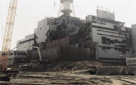 Havárie jaderné elektrárny Černobyl