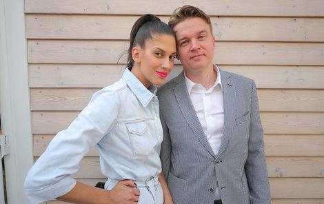 Aneta Vignerová s Petrem Kolečkem
