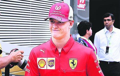 Pro Micka Schumachera to byl životní zážitek.