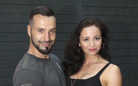 Václav Noid Bárta s přítelkyní Eliškou