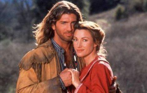 Jane Seymourová a Joe Lando v seriálu Doktorka Quinnová