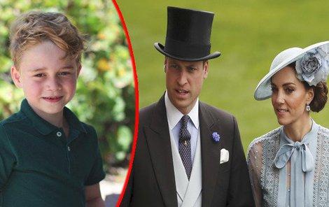 Syn Williama a Kate se stal terčem posměchu.