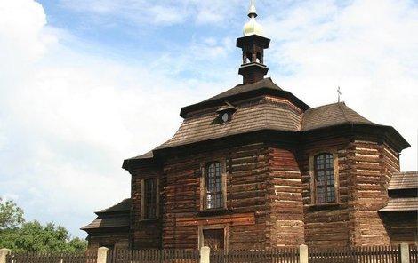 Kostel Loučná hora