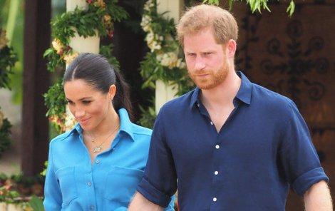 Princ Harry a vévodkyně Meghan chtějí zamířit za oceán.