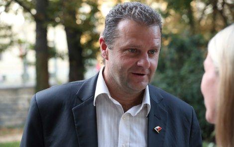 Komunistický poslanec Zdeněk Ondráček