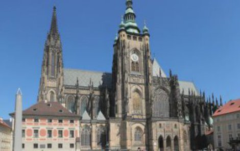 Katedrále svatého Víta