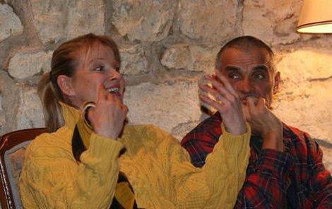 Chantal Poullain se už moc těší, jak protančí prázdniny s Oldřichem Kaiserem.