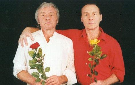 Dvojčata Kája a Jan Saudkovi.