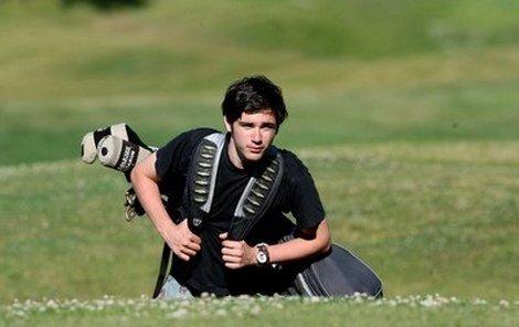 Vojtu Kotka přivedla ke golfu maminka.