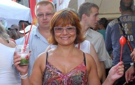 Herečka Ivana Andrlová se nemohla nabažit lahodného mojita!