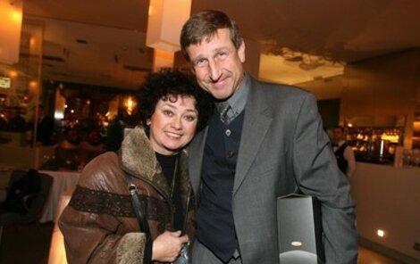 Jana Boušková chce tancovat líp, než umí její manžel Václav Vydra.