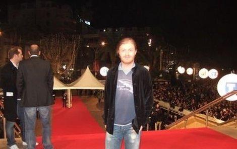 Pavel Šporcl se v Cannes prošel po legendárním červeném koberci.