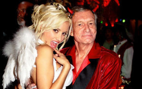 Hugh Hefner a Holly Madison