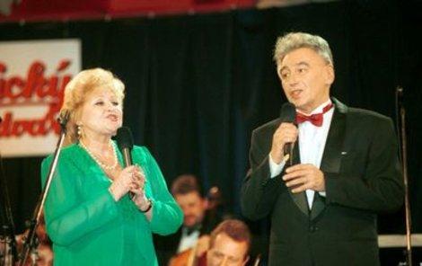Josef Zíma a jeho manželka Eva Klepáčová