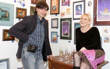 Časy, kdy provozoval galerii Zdeněk Podhůrský se svou bývalou ženou Markétou jsou již minulostí.