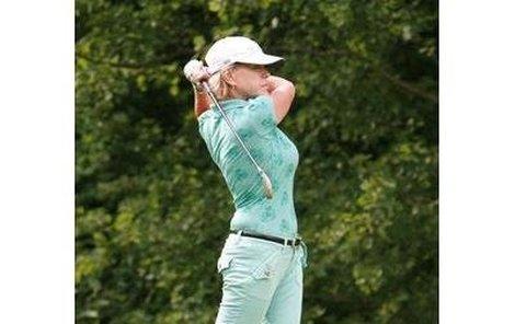 Herečka Jana Švandová je velkým příznivcem golfu, a proto se dá očekávat, že určitě nebude patřit mezi poražené.