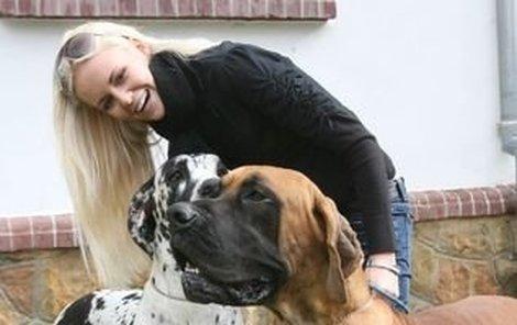 Miss Lucie Hadašová by si domů vzala nejraději všechna zvířata, nakonec však usoudila, že by to nebylo moudré.