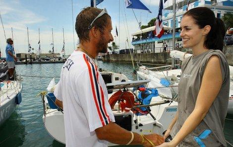 David Křížek a Lucie Váchová, aneb romantika v Brazílii, o které misska prohlásila, že by si dokázala představit, kdyby se tam zasnoubila i vdala.