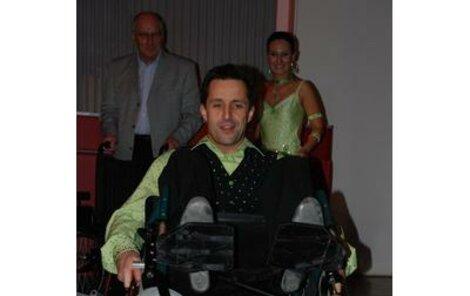 Tomáš Krejčír tančil, a pak předvedl své jezdecké umění na invalidním vozíčku!
