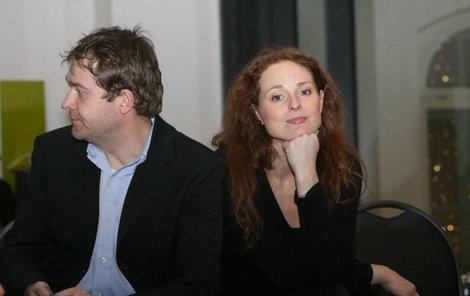 Markéta Hrubešová s manželem Davidem Krausem se nejdřív nudili...