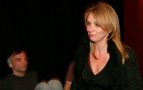 Ivana Chýlková na besedě o svém novém filmu dlouho nepobyla.