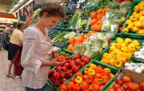Vitamíny můžete doplnit díky ovoci a zelenině.