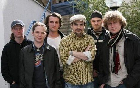 Zleva: Petr Dočkal, Lukáš Kantor, Oldřich Smysl, Alan Novotný, Ján Jackuliak, Jakub Uličník