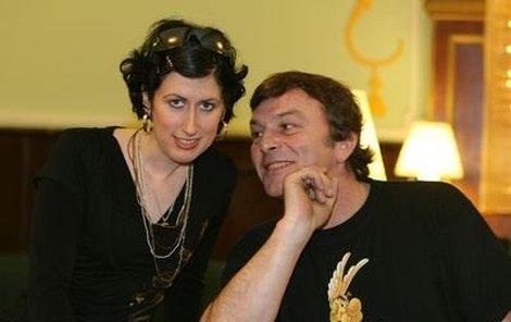 Pavel Trávníček (57) s Monikou Fialkovou (23).