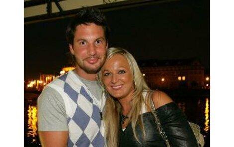 Vašek Jelínek s přítelkyní Marcelou, kterou si chce vzít.
