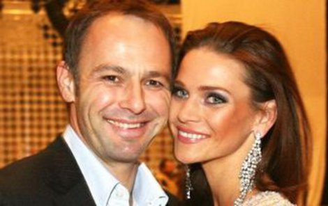Andrea s manželem Danielem Volopichem.