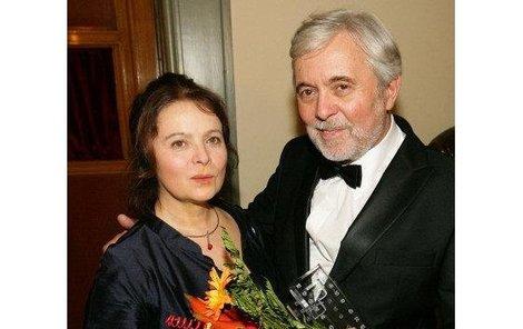Manželé Libuše Šafránková a Josef Abrhám si spolu zahrají v pohádce Kouzla králů.
