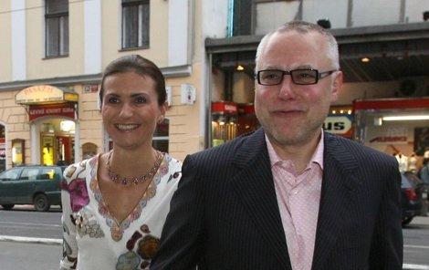 Michaela Maláčová a Zdeněk Bakala