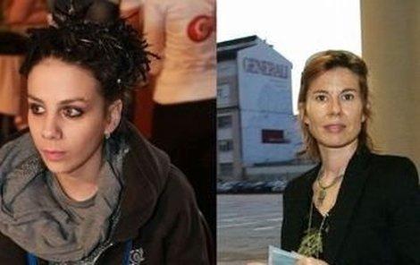 Aneta Langerová a Iva Milerová.