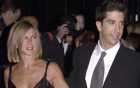 Jennifer Aniston a David Schwimmer ještě jako přátelé. Bude takový obrázek už jen věcí minulosti?