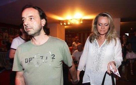 Lenka Hornová s nastávajícím manželem Liborem.