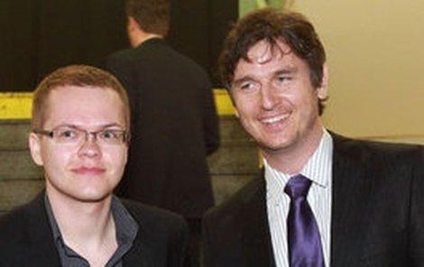 Lumír Olšovský (vpravo) s partnerem Pavlem Bárem.