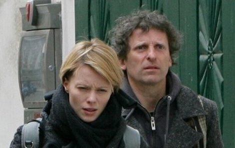 Linda Rybová s manželem Davidem Prachařem.