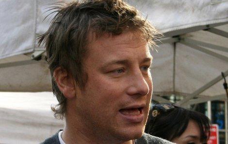 Jamie Oliver má trable.